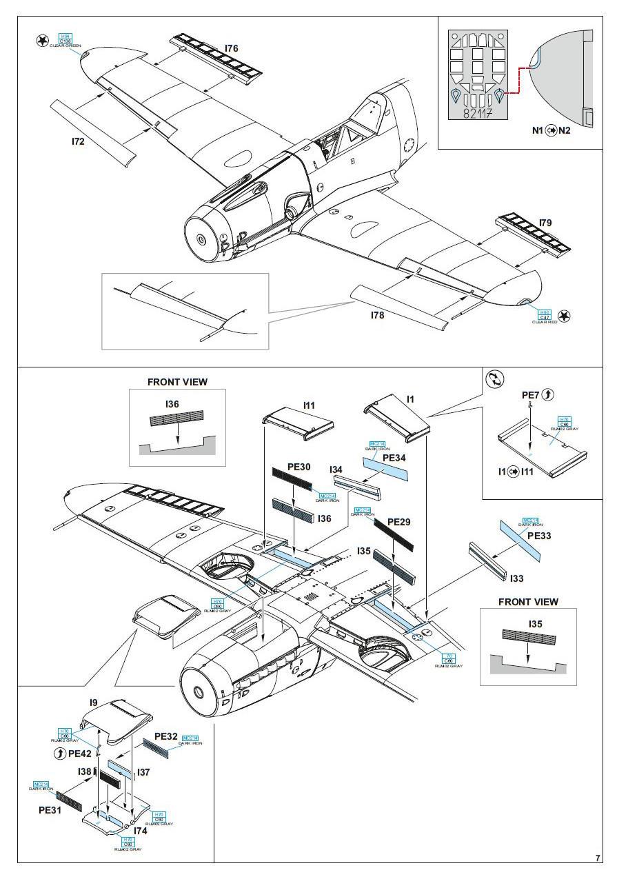 Eduard 82117 - Bf 109G-4 ProfiPack Edition