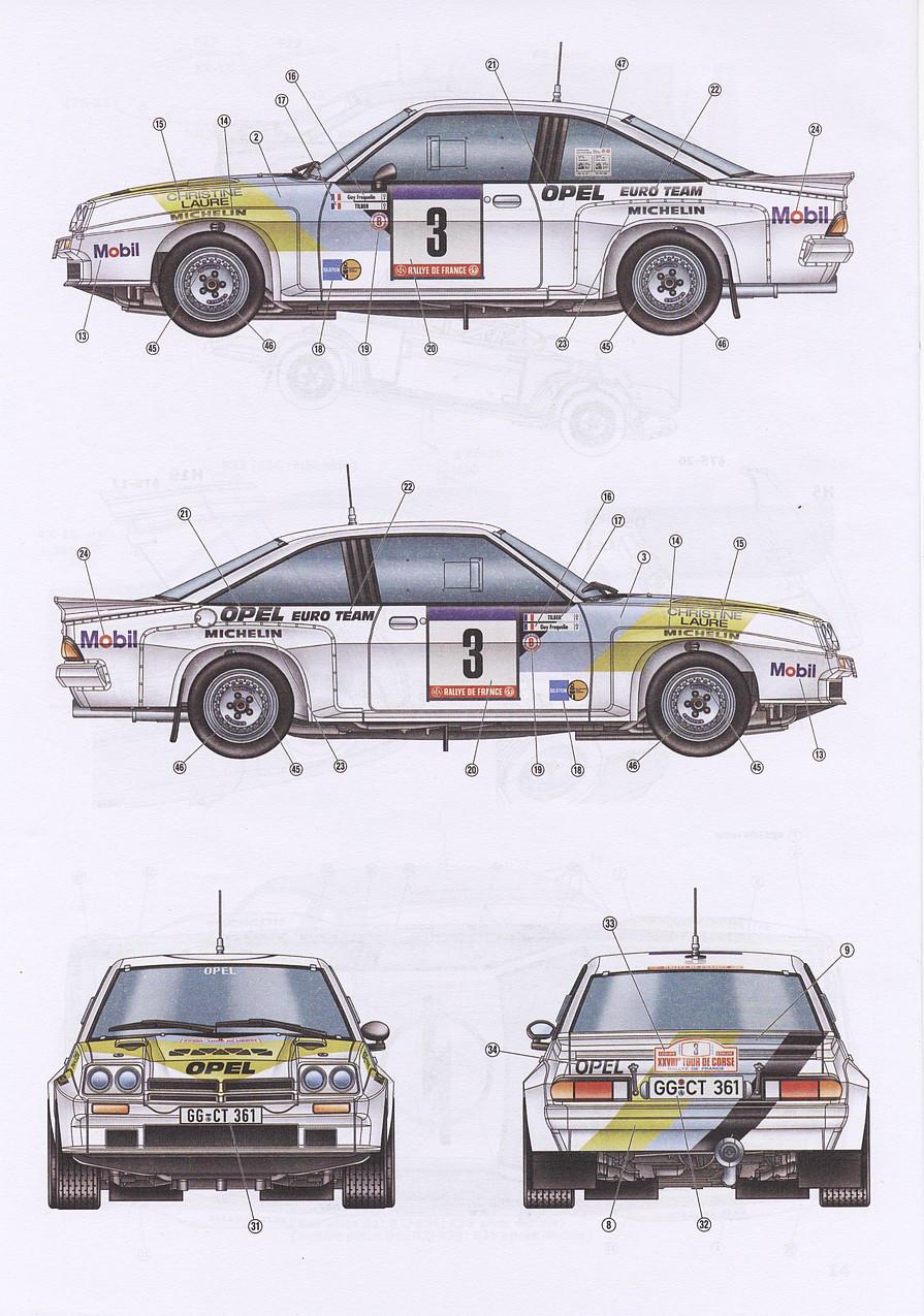 Belkits BEL-008 - Opel Manta 400 Gr. B 1/24