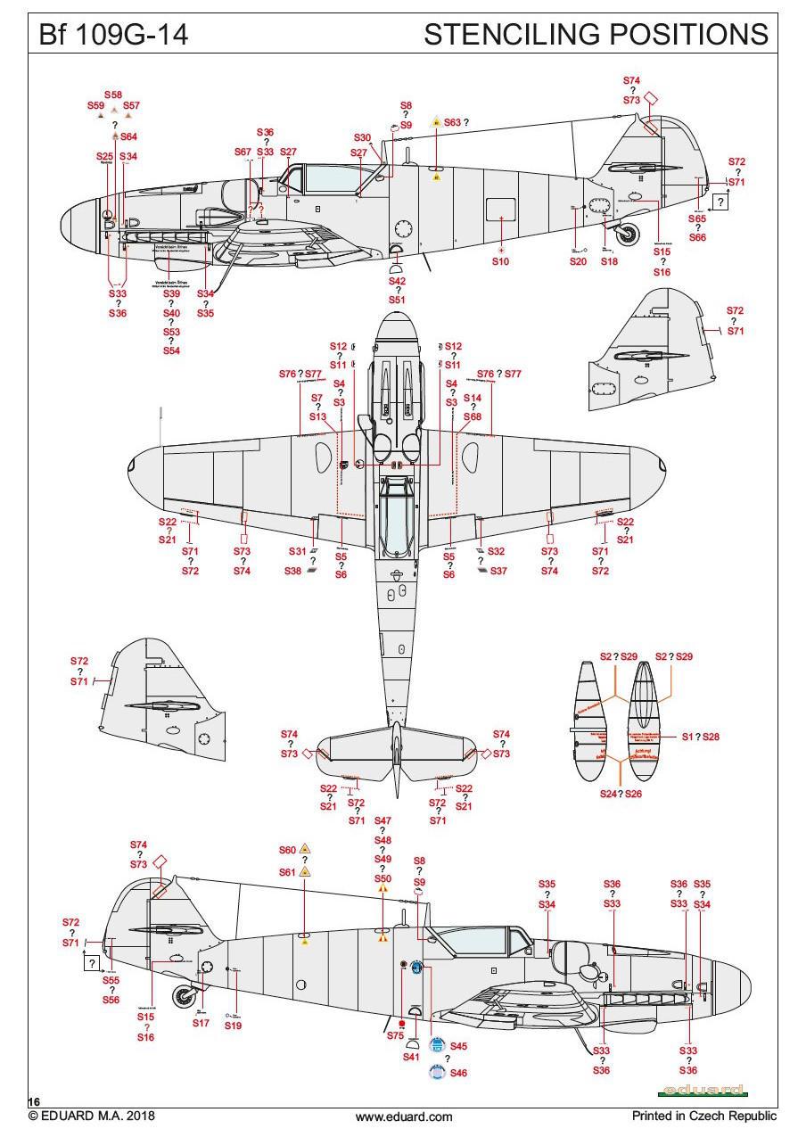 Eduard 82118 - Bf 109G-14 ProfiPack Edition