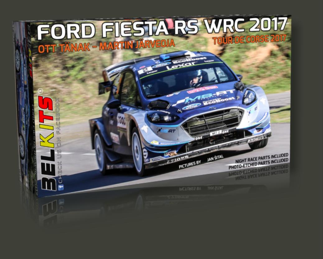 Belkits Bel 013 Ford Fiesta Rs Wrc 2017 Tour De Corse
